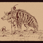 The Tribal and his Pet